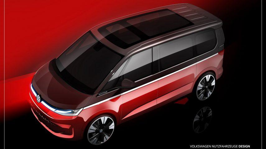 Volkswagen T7 Multivan 2021 Teaser (1)