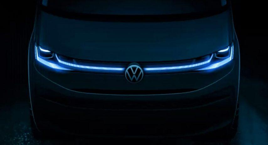 Volkswagen T7 Multivan 2021 Teaser (4)