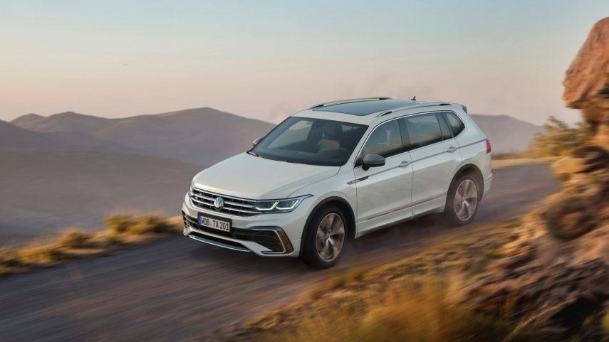 El Volkswagen Tiguan Allspace 2021 afina su diseño y añade más tecnología