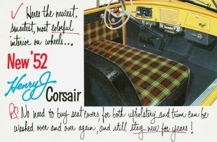 1952 Kaiser Frazer Henry J Corsair 2
