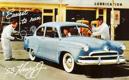 1953 Kaiser Frazer Henry J Corsair Deluxe 2