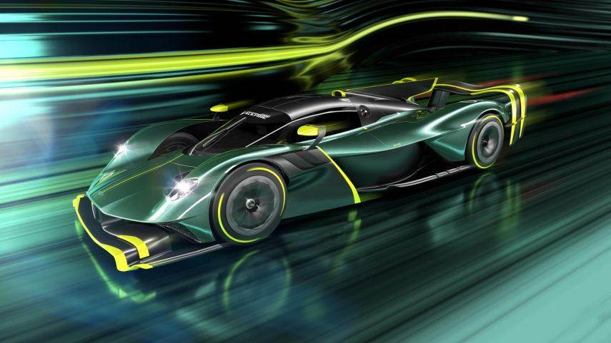 Aston Martin enseña los bocetos finales del Valkyrie AMR Pro