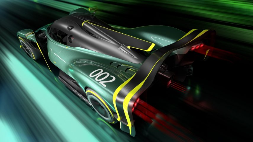 Aston Martin Valkyrie AMR Pro Teaser 2021 (2)