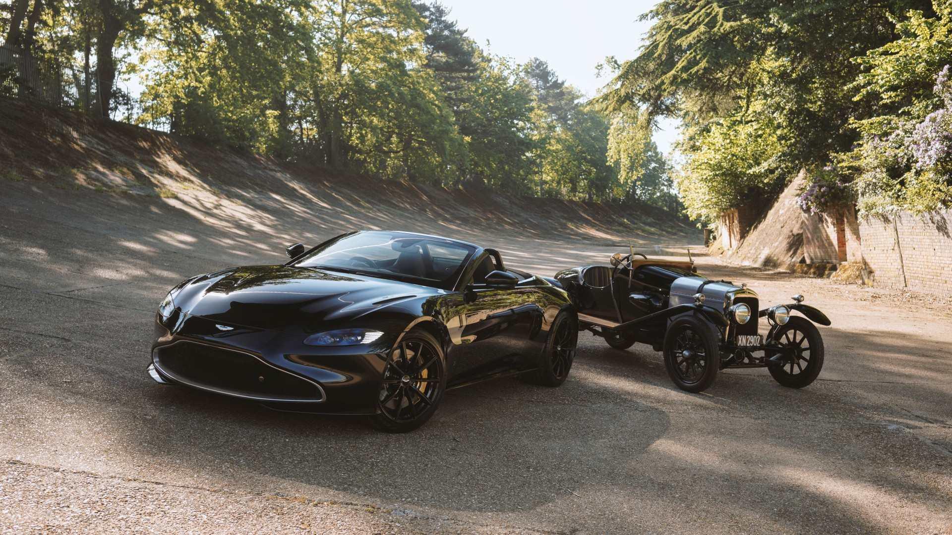 """Q by Aston Martin presenta un Vantage Roadster en homenaje al """"A3"""""""