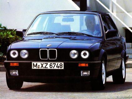 BMW 324td sedan E30 1
