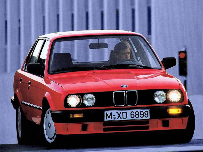 BMW 324td sedan E30 2