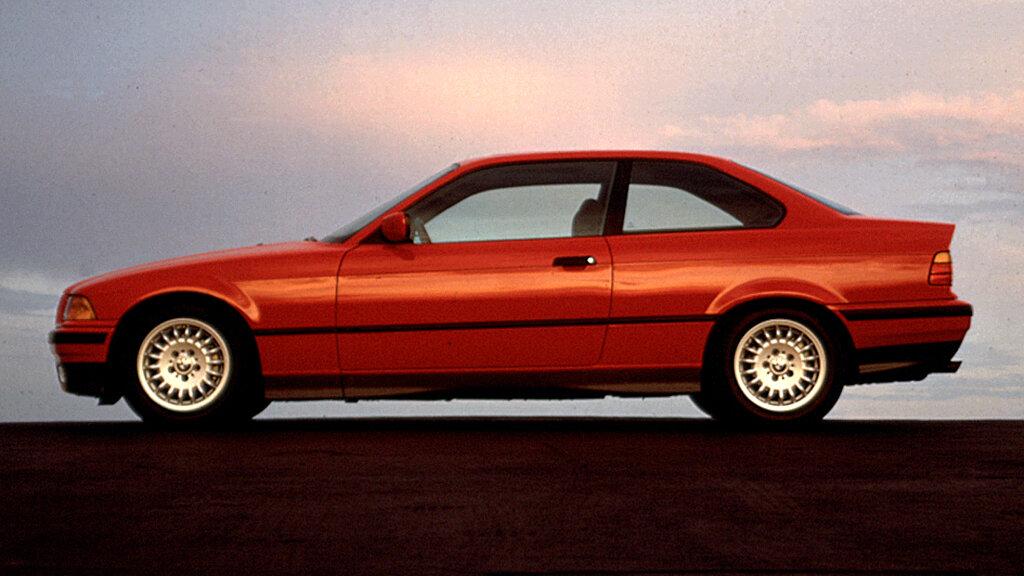 Coche del día: BMW 325i coupé (E36)