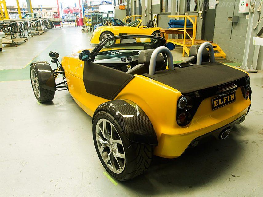 Elfin T5 Clubman fabrica