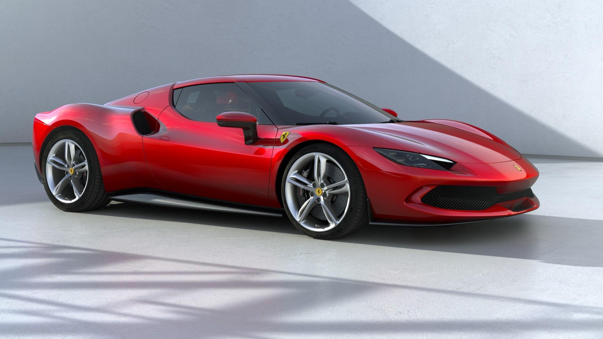 El Ferrari 296 GTB es el encargado de estrenar el nuevo V6 biturbo del Cavallino