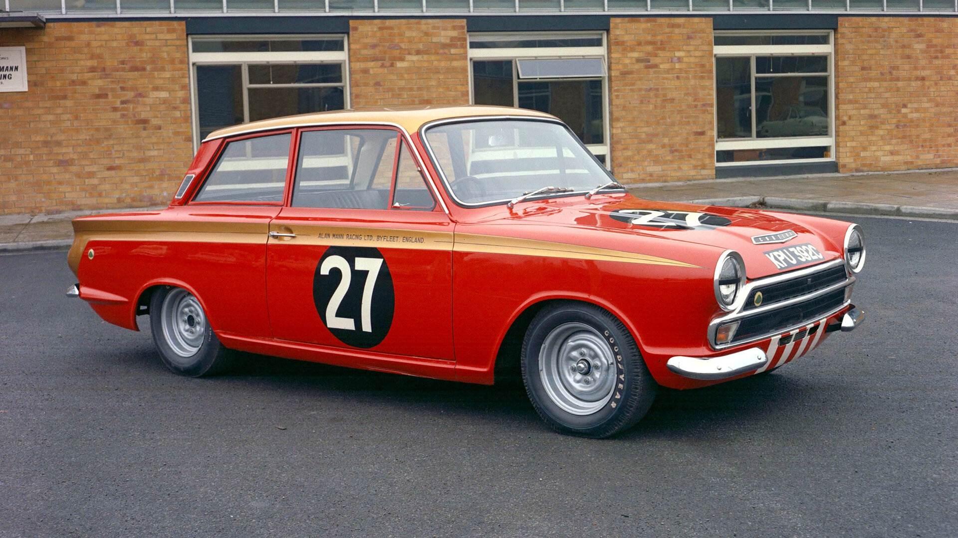 Coche del día: Ford Cortina Lotus