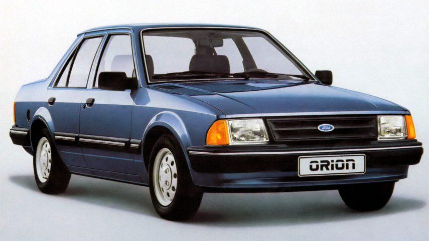 Coche del día: Ford Orion (Mk.I/Mk.II)
