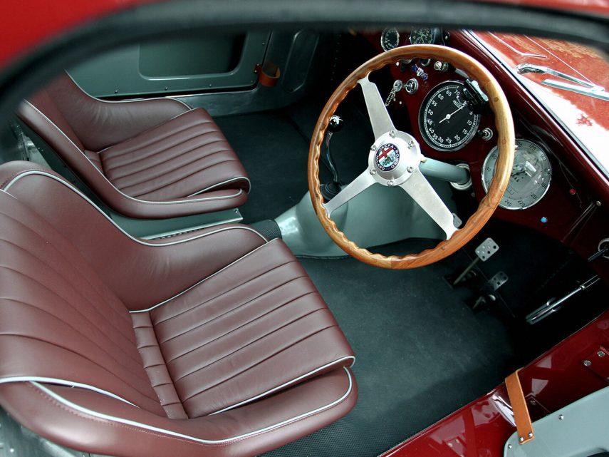 Interior Alfa Romeo 6C 2500 Competizione 1948