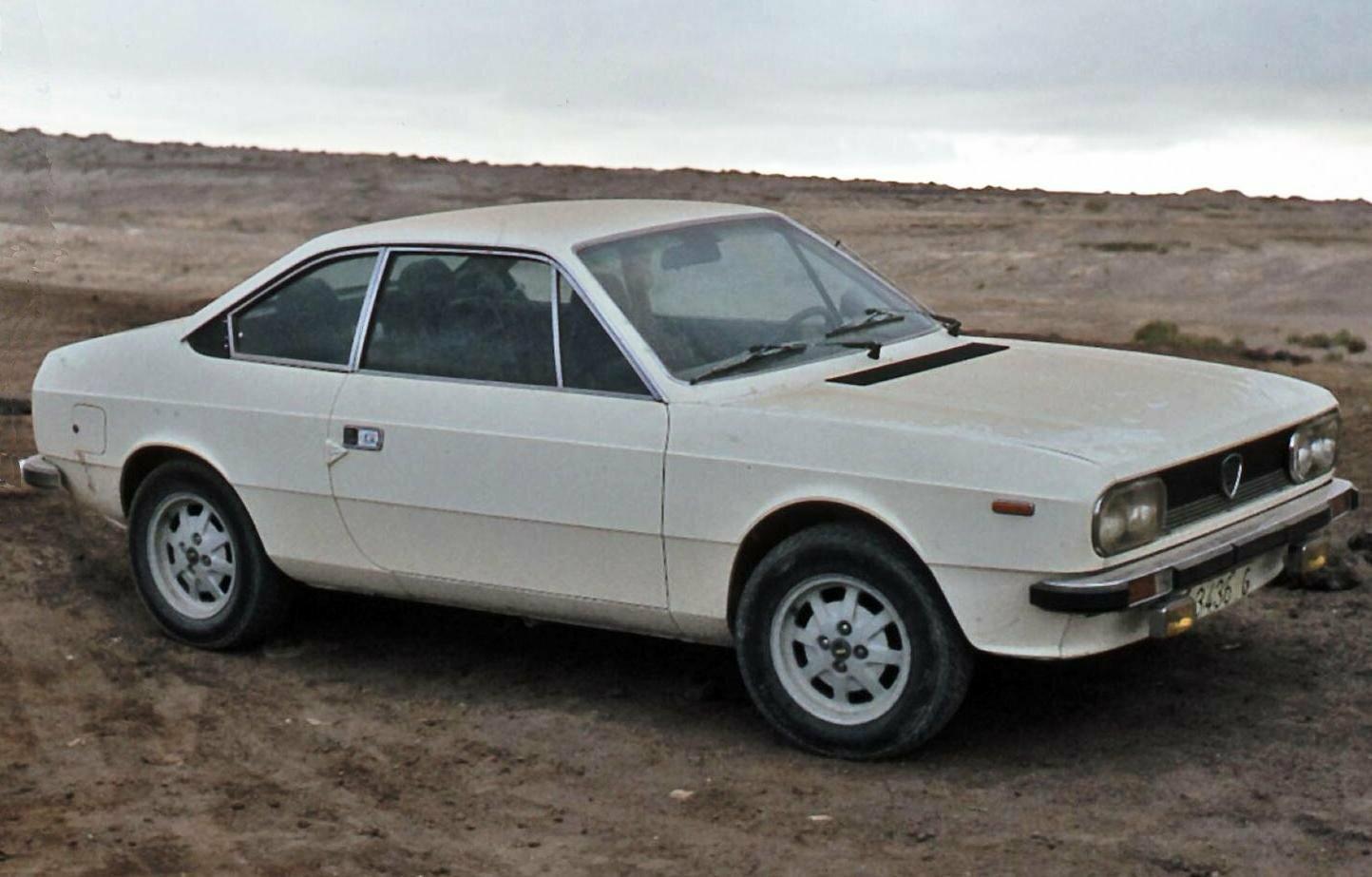 Coche del día: Lancia Beta Coupé 2000 (828)