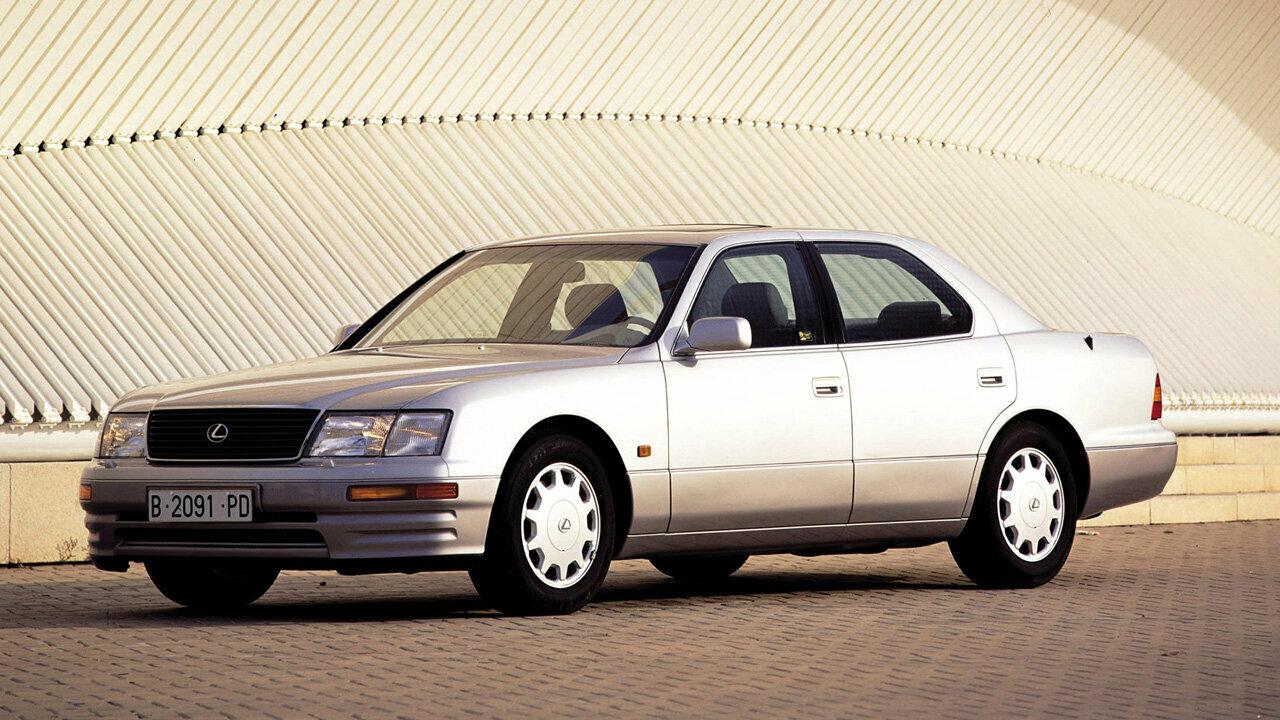 Coche del día: Lexus LS 400 (UCF20)