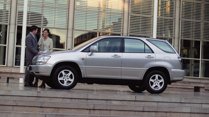 Coche del día: Lexus RX 300 (XU10)