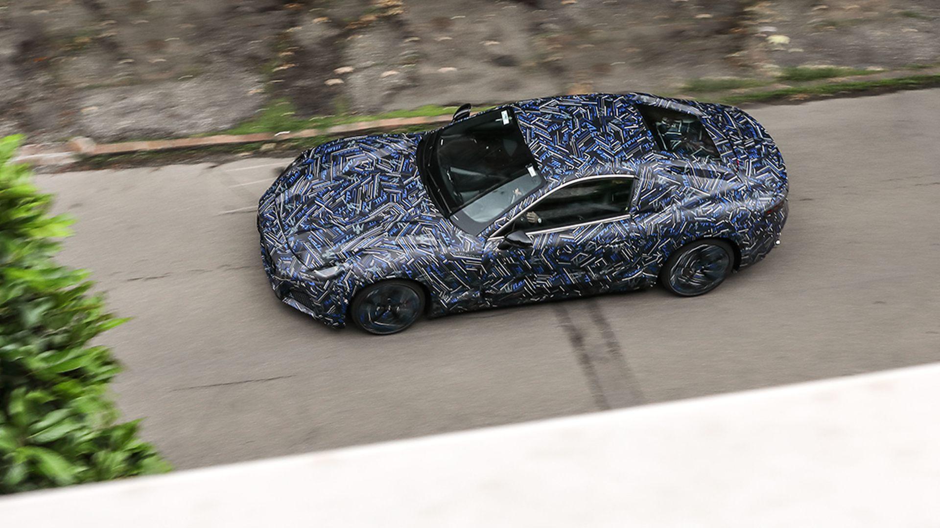 El sustituto del Maserati GranTurismo se deja ver con camuflaje