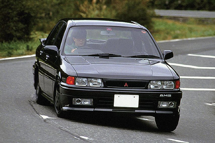 Coche del día: Mitsubishi Galant AMG (E33A)