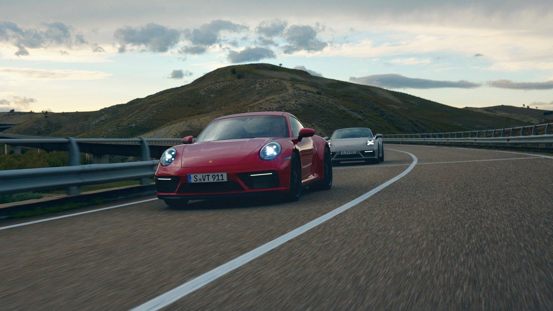 Porsche 911 GTS 2022, llega el hermano más equilibrado de la familia