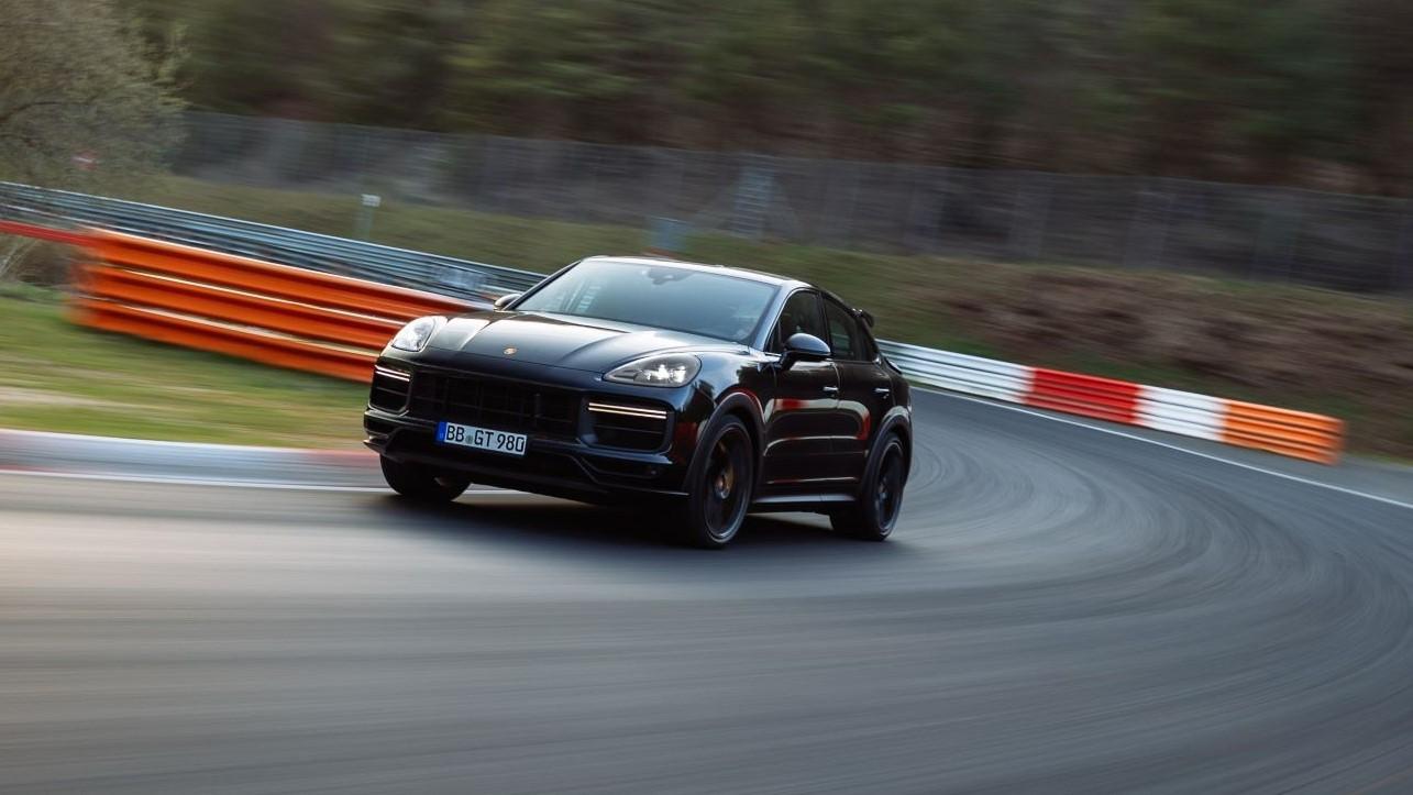 Un nuevo Porsche Cayenne se estrena con récord en Nürburgring