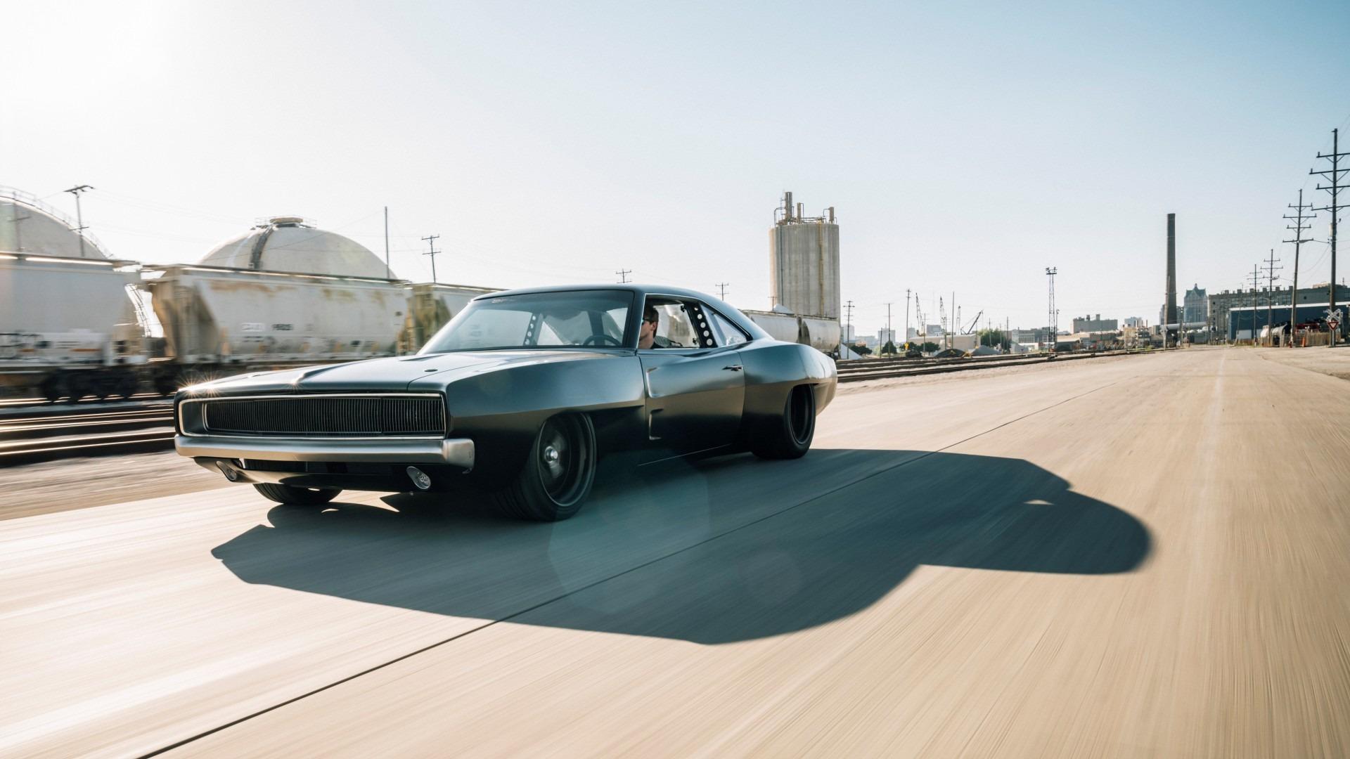 "SpeedKore crea el Dodge Charger de motor central, ""Hellacious"""