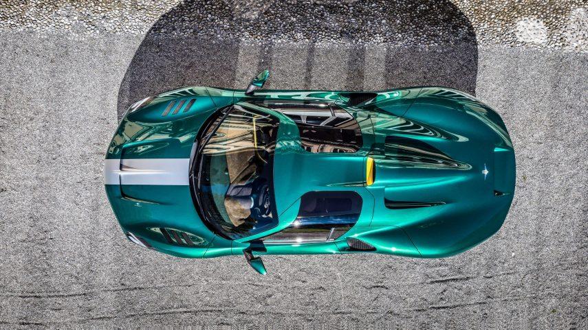 Touring Superleggera Arese RH95, un Ferrari con un vestido más sexy