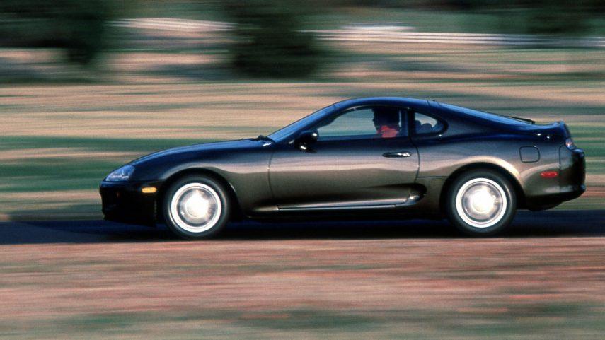 Coche del día: Toyota Supra 3.0 (A80)