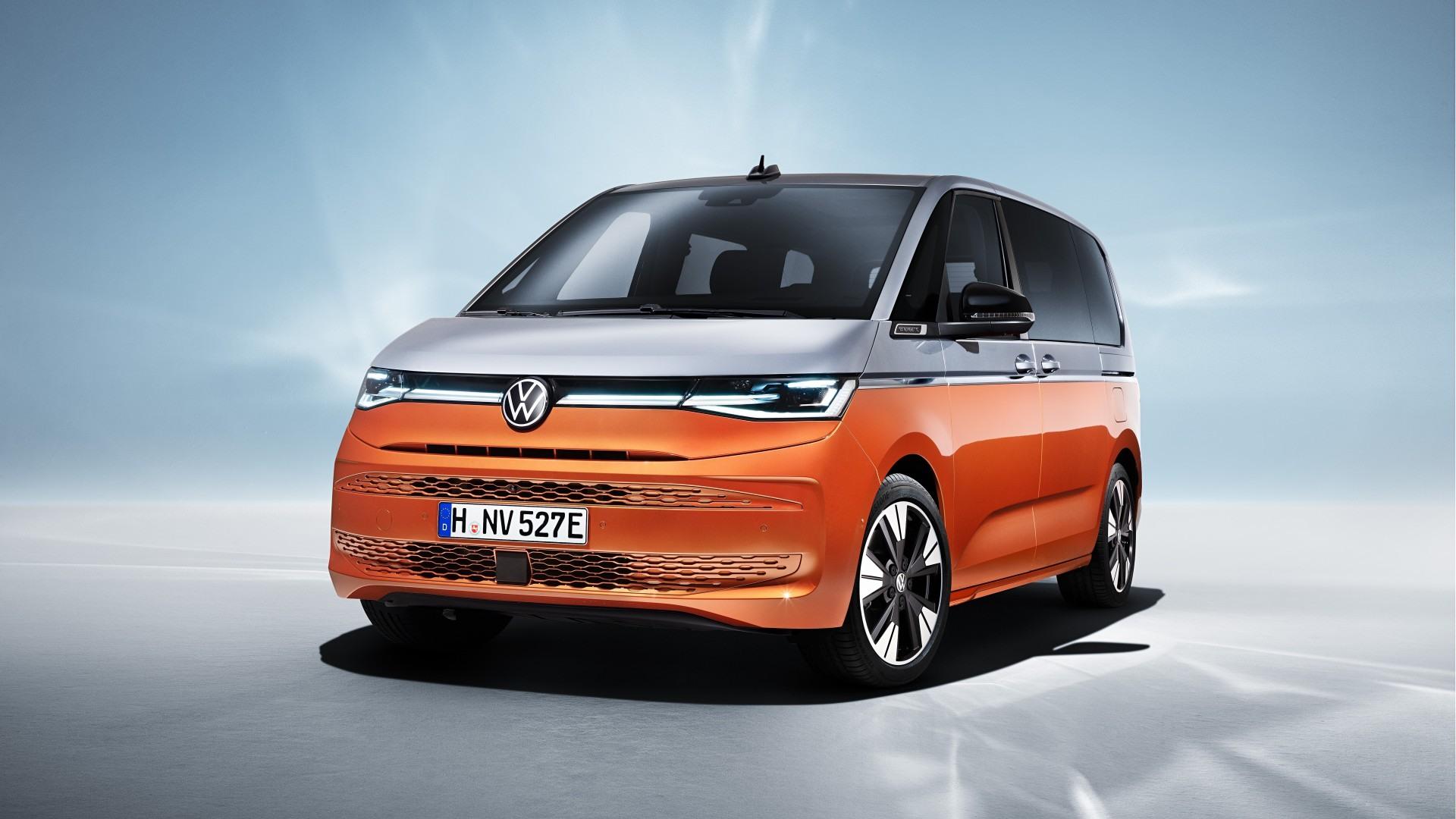Volkswagen Multivan (T7) 2022, totalmente nueva