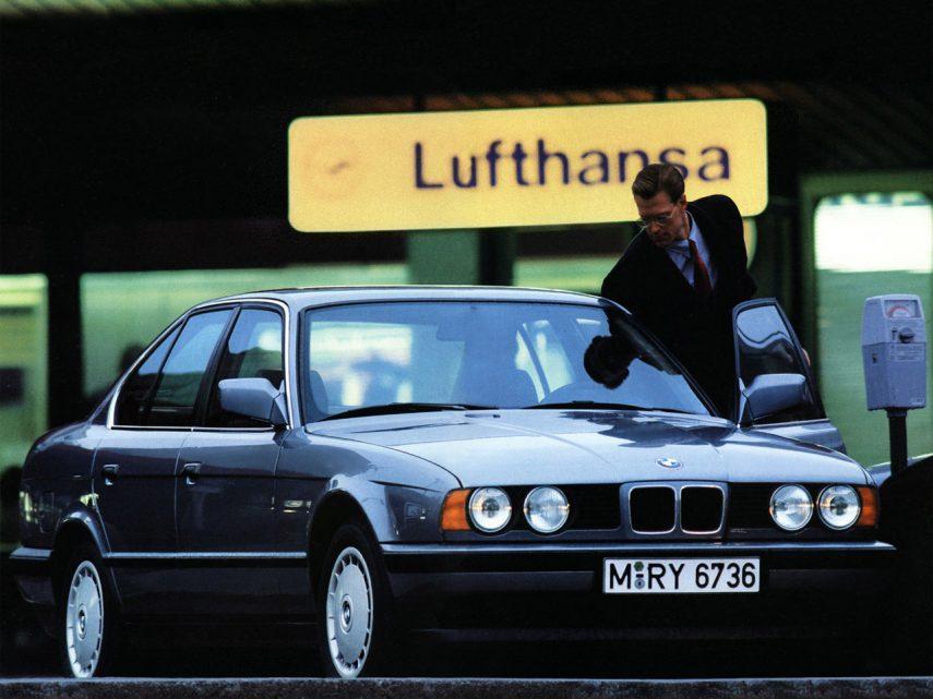 BMW 530i L6 E34 3