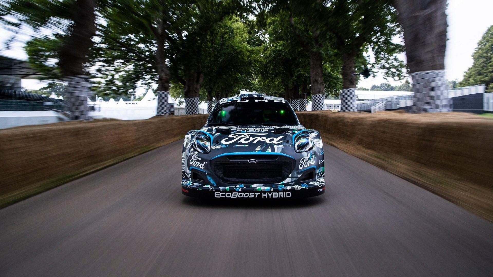 M-Sport Ford Puma Rally1, el primer híbrido enchufable para el WRC