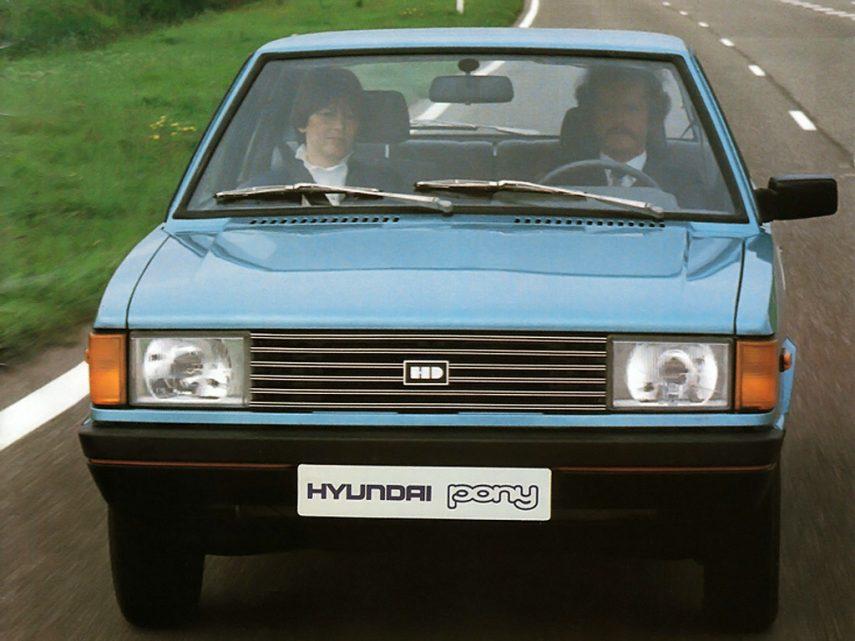 Hyundai Pony II 2