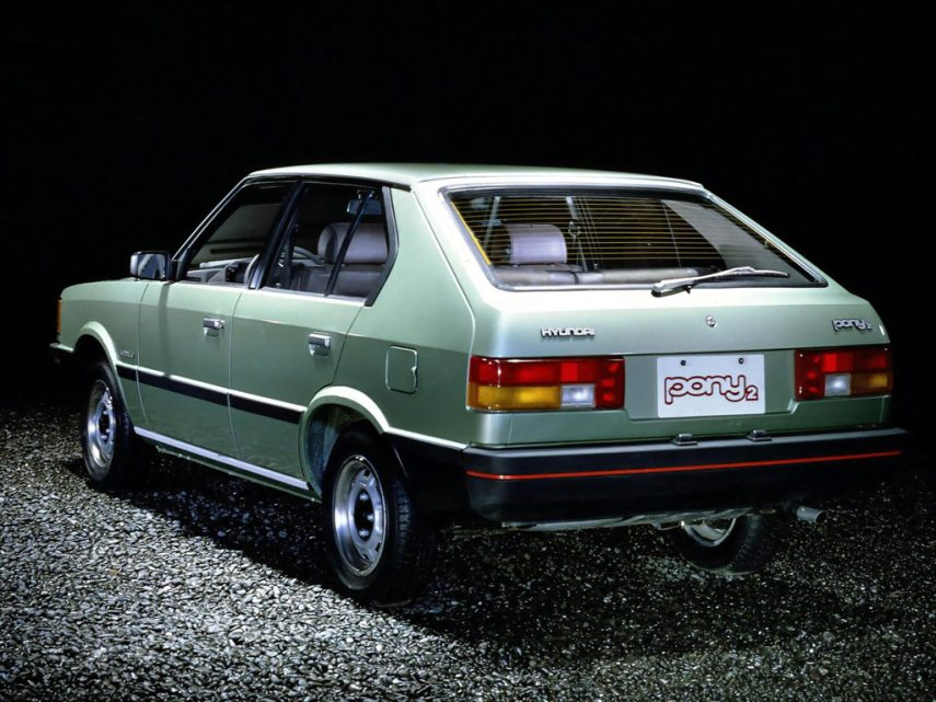 Hyundai Pony II 3