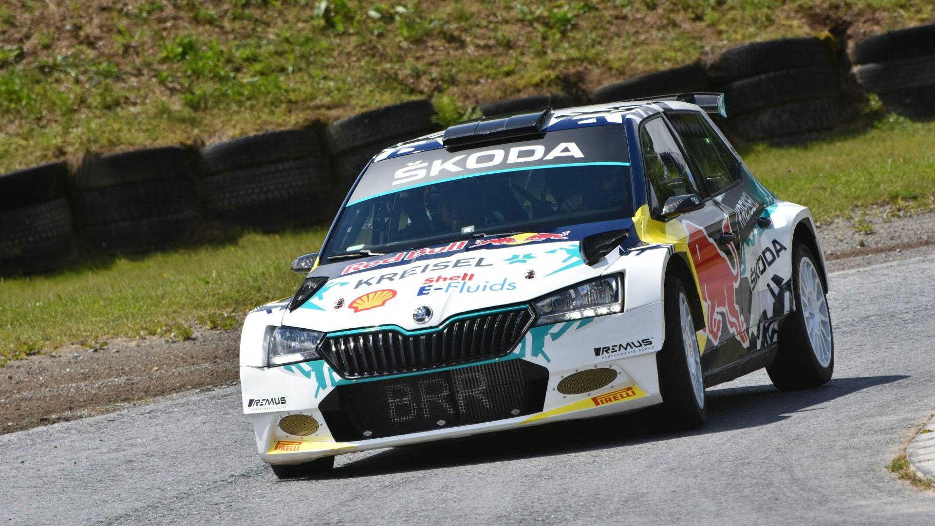 Škoda Fabia RE-X1 Kreisel, comienza la electrificación completa en los rallies