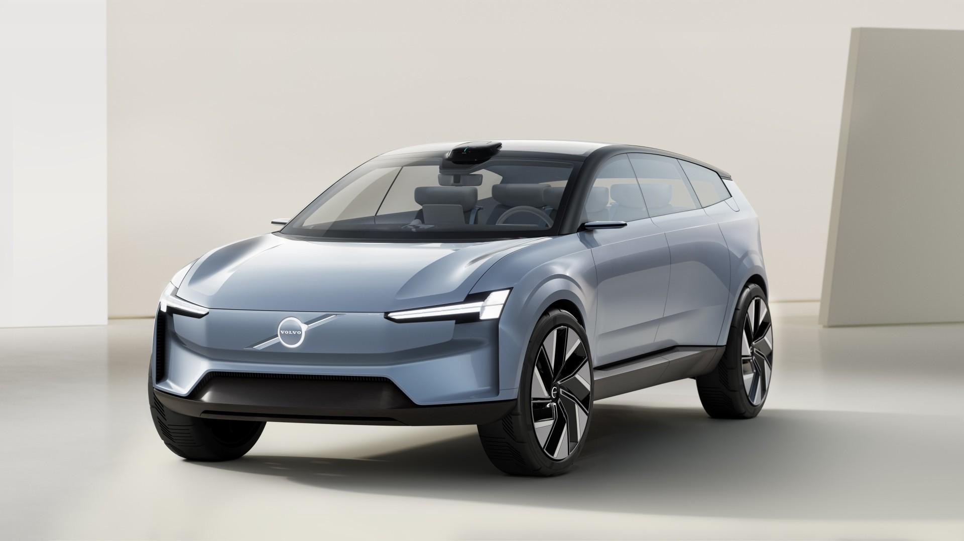 El Volvo Concept Recharge 2021 anticipa el futuro XC90 100 % eléctrico